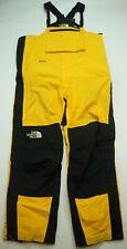 Rare VTG THE NORTH FACE Gore-Tex Snowboarding Ski Bib Overalls 90s TNF Yellow L