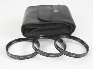 HOYA CLOSE-UP LENS SET, 55MM, WITH POUCH 1 2 AND +3/178409
