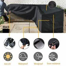 L Shape Corner Outdoor Sofa Rattan Patio Garden Waterproof Furniture Cover