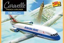 Lindberg 1:96 French Jet Airliner Caravelle Plastic Model Kit 513 LND513