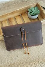 Handcrafted Leather iPad Sleeve iPad Case All sizes 6 colors
