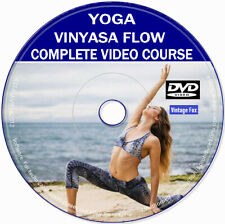 Vinyasa Flow Yoga Fitness Relaxation Weight Loss Health Stress Relief DVD Video