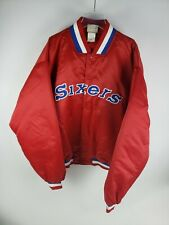 Sixers Men Harbor Classic Jacket gray red, blue and white, Size 4XL