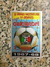 COPERTINA 1967-68 N. 307 album CALCIATORI PANINI 1985-86 ORIGINALE NUOVA VELINA