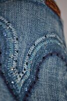 new 7 for all mankind KATE Slim STRAIGHT JEANS size 28 uk 10 34 leg ladies women