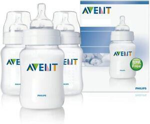 Philips Avent Classic Bottle Set *125ml* 3 Pack Anti Colic