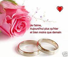 TAPIS DE SOURIS ANNIVERSAIRE DE MARIAGE  AMOUR