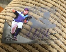 2014 Leaf Trinity Draft PURE Glass Sean Reid-Foley Charcoal Auto Autograph P-SRF
