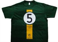 Classic Team Lotus Jim Clark Type 49 US 1967 Grand Prix F1 T-shirt ALL OPTIONS