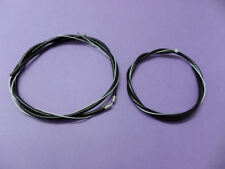 RALEIGH CHOPPER MK3 FRONT & REAR BRAKE CABLE SET -  NEW REPRO PARTS