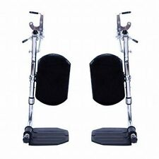 Invacare Wheelchair Elevating Foot Leg Calf Rest Pad - (pair)