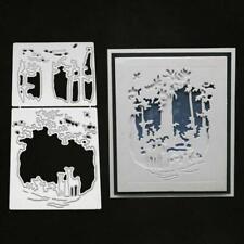 Deer Metal Cutting Dies Stencil Scrapbooking Embossing Paper Cards DIY Crafts