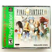 Final Fantasy IX , 9 / PlayStation 1 / psx 1 / Greatest hits .