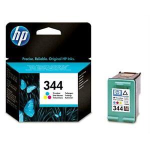 Genuine High Capacity Tri-Colour HP 344 Ink Cartridge Vivera C9363EE