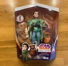 Star Wars endor Adventure Action Figure Pack Princess Leia & Ewok Set Age 4+