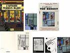 TED BENOIT BLAKE ET MORTIMER-L'AFFAIRE EDITION ORIGINALE+EX-LIBRIS SIGNÉ