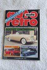 Magazine Auto Moto Rétro N°66 Février 1986