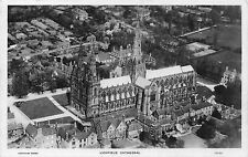 POSTCARD    LICHFIELD     Cathedral     From  the  Air     RP
