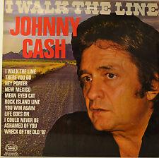 """JOHNNY CASH - I WALK THE LINE  12""""  LP (O207)"""