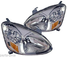 New Replacement Headlight Assembly PAIR / FOR 2003-05 TOYOTA ECHO
