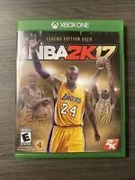 NBA 2K17 Legend Edition Gold (Microsoft Xbox One) Kobe Bryant Cover