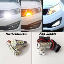 For Kia Optima 2011-2015 Switchback LED turn signals + LED Fog Lights Package