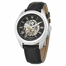 MASERATI TRAGUARDO 45 mm AUTOMATIC SKELETON MEN'S WATCH BY SECTOR GROUP