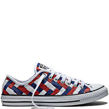 Converse All Star Chuck Taylor Woven Low Casual Sneakers 13 Men's - 15 Women's