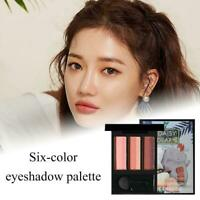Double Color Lazy Eyeshadow Makeup Palette Pigment Waterproof new B5W1