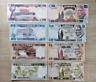 ZAMBIA  Banknote set  4 pcs. (2,5,10,50 Kwatcha ) 1980/1988 UNC