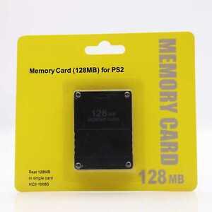 Memory Card 128 MB Speicherkarte Playstation 2 PS2 NEU