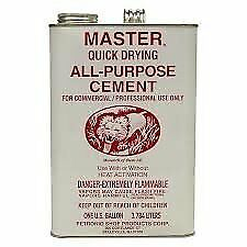 Master Quick Drying All Purpose Cement One Gallon