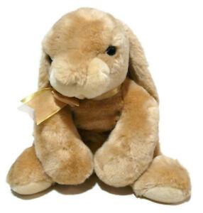 "Animal Alley Toys R Us Bunny Rabbit 16"" Plush Stuffed Animal Tan Beige 2001"