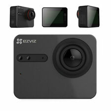 Ezviz S5 Plus mediante Hikvision LCD Cámara Negra, construir Wifi Ultra HD 4K 30 Fps De Video