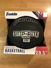 "Franklin Sports Grip-Rite 1000 Construction Official Basketball, 29.5"", Black"