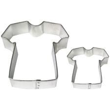 PME Metal Cookie & Cake Sugarcraft Decorating T Shirt Cutter Set Of 2