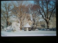 POSTCARD CUMBRIA SOUTHWAITE - WINTER TIME SNOW ON GROUND - SUNNY DAY