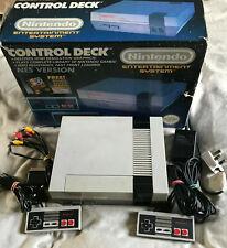 Nintendo Entertainment System NES Console Control Deck Boxed / INC SCART / #2