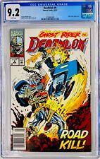 DEATHLOK #9 CGC 9.2 Ghost Rider Appearance 1992 >Road Kill<