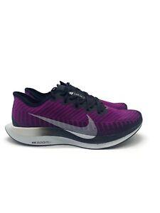 Mens Nike Air Zoom Pegasus Turbo 2 Hyper Violet Pure Platinum AT2863-500 Size 11