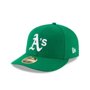 Oakland Athletics New Era MLB On-Field Low Profile ALT 59FIFTY Fitted Hat-Green