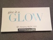 Rodan + Fields Give It A Glow Mini Facial Kit Micro-Dermabrasion, NRS, Lip Serum