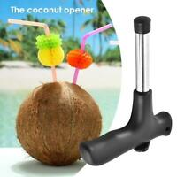 Coconut Opener Stainless Steel Coconut Knife Kitchen Outdoor Drilling Tool Tap