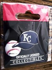 KC Kansas City Royals logo baseball cap pin hat pin