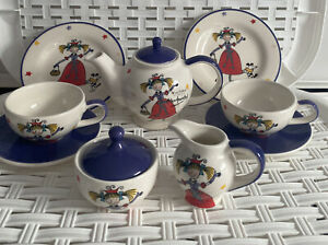 Whittard Of Chelsea Children's Highly Collectible Complete 2 Person Tea Set