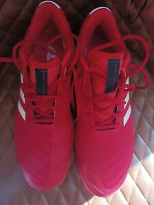 Adidas barricade 2018 Boost All Court Tennis Trainers Size Uk 10 - Red