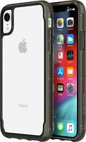 Griffin iPhone XS Max Survivor Clear Tough ShockProof Slim Thin Case Cover Black