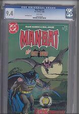 MAN-BAT vs Bat Man #1 CGC 9.4 1984  DC Neal Adams Cover  Comic