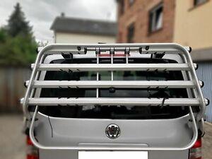 VW Fahrradträger für Heckklappe T5 logo