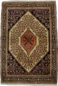 Floral Style Tribal 4X6 Wool Hand-Knotted Area Rug Oriental Home Decor Carpet